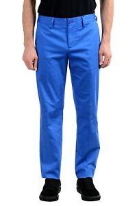 Versace Jeans Men's Blue Stretch Casual Pants Size 30 32 34