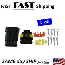 4 pin wire end plug - auto electrical supply part - 4pin waterproof connector