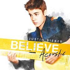 JUSTIN BIEBER - BELIEVE ACOUSTIC (New & Sealed) CD Inc Boyfriend & New Tracks