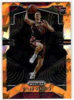 2019-20 Panini Prizm Dylan Windler SP Orange Ice Prizm Rookie RC #270 Cavaliers