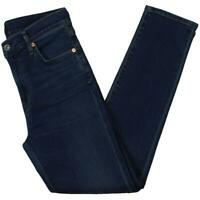 Citizens of Humanity Womens Rocket Blue Denim Cropped Skinny Jeans 28 BHFO 0023