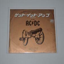 "AC/DC - LET'S GET IT UP - 1982 JAPAN 7"" SINGLE PROMO SAMPLE"