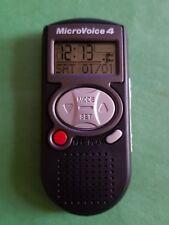 Microvoice 4 ™ Grabadora Digital-Reloj/alarma/Cronómetro