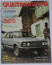 QUATTRORUOTE 4/1977 RENAULT 14 TL – AUDI 100 GLS