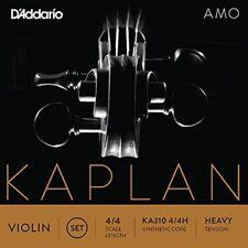 D'Addario Kaplan Amo Violin String Set, 4/4 Scale, Heavy Tension