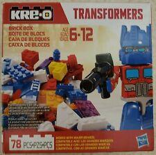 KRE-O 83141 B2312 Asst Transformers 78 Pieces Optimus Brick Box NEW