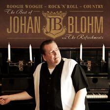 CD The Best of Johan Blohm JB with The Refreshments-Boogie Woogie Rock 'n' roll