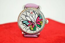 Michele Garden Party Collection Limited Edition 380/725 Diamond/Gemstone Watch