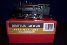 Mantua 0-6-0  DC Tank Switcher Undecorated no 393004