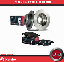 KIT DISCHI FRENO + PASTIGLIE BREMBO FIAT PANDA 141A FIRE 750 900 1.0 1.1 ANT