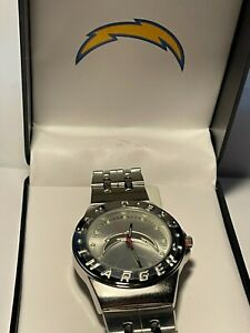 Los Angeles Chargers NFL Stainless Steel Watch by Game Time NEW