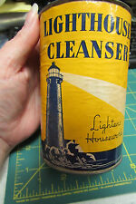 Unopened Lighthouse Cleanser canister Lightens housework 14oz Armour and Company