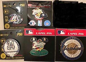 Set of 5 1998 New York Yankees World Series Pins - BLOWOUT PRICE
