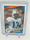 1984 Topps Chewing Gum #123 Dan Marino Miami Dolphins Rookie RC