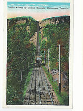 Incline Railway Up Lookout Mountain Chattanooga TN  Used    Postcard 1043