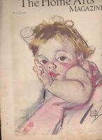 Needlecraft Home Arts Magazine January 1934 Baby Maud Tousey Fangel