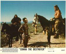 CONAN THE DESTROYER - 1984 - original 8x10 Lobby Card #4 - ARNOLD SCHWARZENEGGER