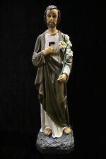 Saint St Joseph the Worker Italian Statue Sculpture Catholic Made in Italy
