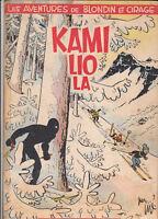 Blondin et Cirage 7. Kamiliola. JIJE 1954.