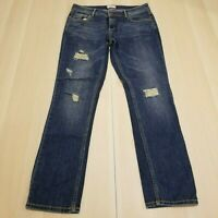 AEROPOSTALE JUNIORS OR WOMEN'S DISTRESSED BAYLA SKINNY DENIM JEANS SIZE 11/12