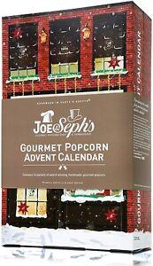 Joe & Seph's Popcorn Advent Calendar | 24 x Individual Bags - BBE - 27/03/2021