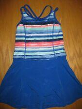 NWT Gymboree Gymgo Size 5-6 Blue Striped Active Sport Dress