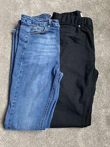 Blue Hera London And Black Top Man Jeans Bundle Size 34L