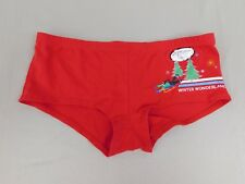 Tommy Hilfiger Winter Wonderland Boyshort Panties Red Size 6 Medium #385