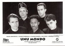 unu mondo limited press kit