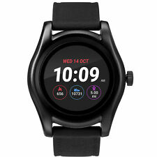 Timex TW5M31500, Iconnect Black Silicone Watch, Heart Monitor, GPS, Alarm