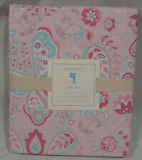 Pottery Barn Kids Pink Kristin Kristen Full/Queen Duvet Cover+2 Standard Shams