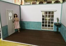 Doll house Room Box Blue ~ Scale 1:6 Pullip Blythe Momoko Monster Barbie BJD