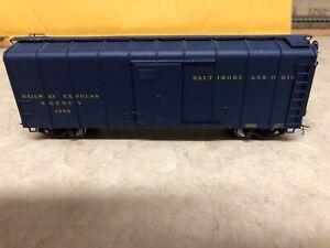 Exactrail HO B&O M53 Wagontop 40ft Blue boxcar