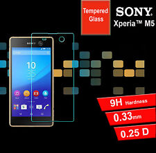 Screen Protector Tempered Glass Screen Protector for Sony Xperia M5