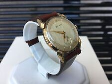 *Very Rare* Vintage Bulova Men's 10K Gold Plated 11AC Manual Watch GORGEOUS