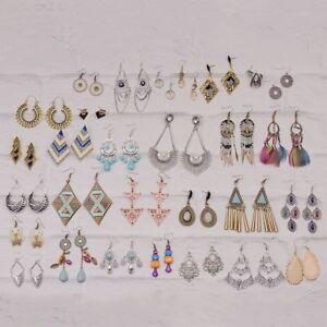 Vintage Bohemian Multi style Hook Tassel Dangle Women's Earrings Discount Cheap