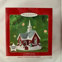 Hallmark Keepsake Magic Collectors Candlelight Services 2001 Christmas Ornament