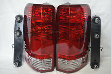 W/Light Bulbs Rear Tail Light Lamp One Pair for 2007-2011 Dodge Nitro