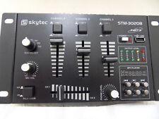 Skytec 6 Channel DJ Compact Mixer USB Mp3 Player Karaoke PA Party Disco Mobile