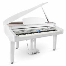 88 Tasten Digital Flügel E-Piano Begleitung 3 Pedale 1200 Sounds Bluetooth weiß