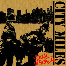 City Miles - Social Upheaval CD COCK SPARRER RED ALERT THE BUSINESS BLITZ