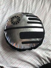 Star Wars Black And Silver Round Cushion 30x38cm BNWT