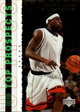 2003-04 UD Top Prospects Basketball #55 LeBron James