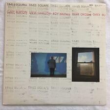 Gary Burton LP Times Square 1978 ECM 1-1111 VG+ Vinyl Masterdisk