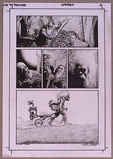 RICHARD CORBEN ORIGINAL ART Dark Horse Presents Vol 3 #1,2011 Murky World Signed