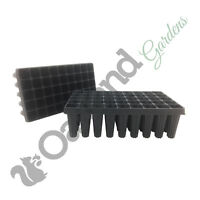 2 x 45 Cell Deep Rootrainers Plug Plant Seed Tray Root trainers Extra Large