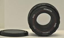 Promaster MC 50mm F1.7 for Pentax K Mount SLR & DSLR Cameras