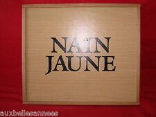 BOITE EN BOIS DE JEU DE NAIN JAUNE / JOUET