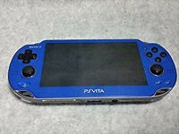 PlayStation PS Vita Wi-Fi PCH-1000 ZA04 Sapphire Blue Sony Japan USED