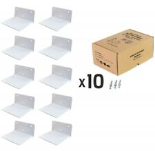 Invisible Concealed Floating Bookshelf Metal  Wall Mounted Storage Book Display